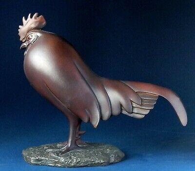 Coq Dormant Hahn -L- FRANCOIS POMPON Skulptur Parastone Museum POM14 Figur