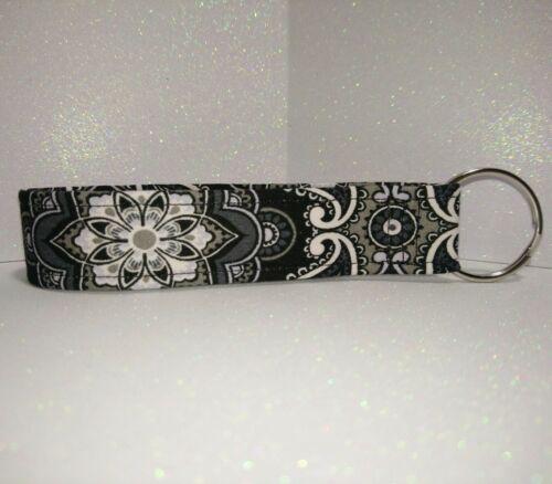 New  Key Fob / Key Chain / Fabric /wristlet /Wrist Lanyard/