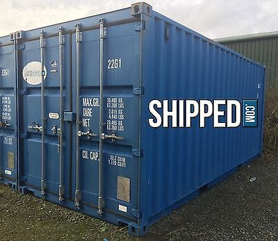 20 Certified Cargo Worthy Sea Worthy Used Shipping Container In Phoenix Az