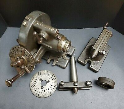 Brown Sharpe Rotary Index Tailstock Dividing Fixture Indexing Machinist Mill