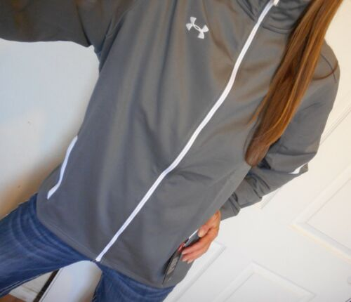 New UNDER ARMOUR Womens Size Large Gray Jacket Loose