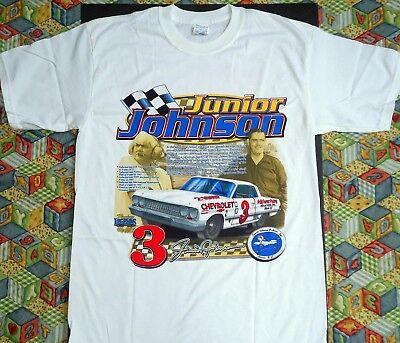 Junior Johnson Story Of A Champion Nascar T Shirt  New Mens Size Med Xxl