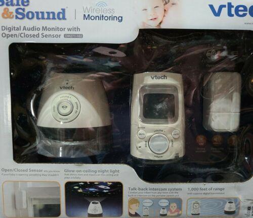 VTech Safe and Sound DECT 6.0 Digital Audio Baby Monitor DM2