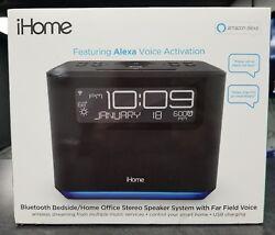iHome Bluetooth Stereo Speaker System - Far Field Voice - Amazon Alexa - WiFi