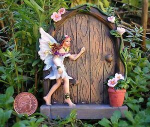 Sweet-Sparkle-Fairy-Faerie-Door-Home-Garden-Ornament