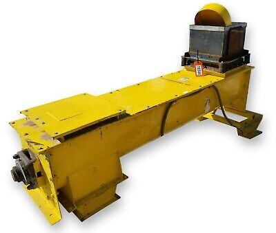 Used 14 Dia. X 7 Long Continuous Mixing Feeder Screw Auger Conveyor