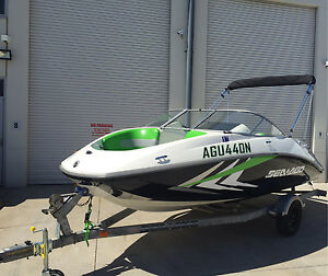 SWAP SEADOO CHALLENGER JET BOAT  180 215HP - 70Hrs   - TRADE JETSKI Panania Bankstown Area Preview