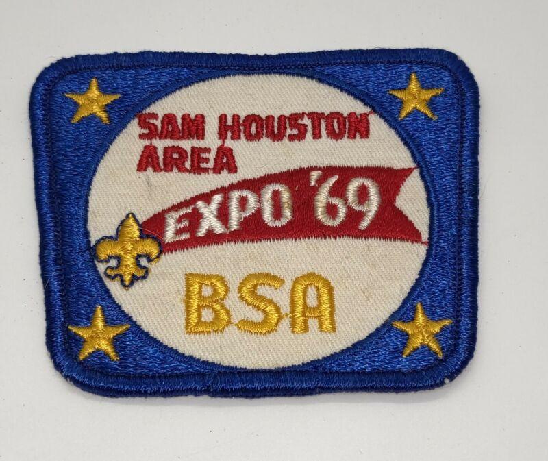 Vintage Boy Scout BSA  Sam Houston Area Expo