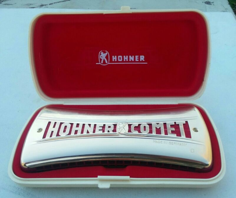 Hohner Comet Harmonica Made In Germany