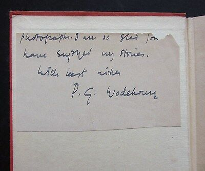 P. G. Wodehouse, SIGNED, Lord Emsworth and Others, 1st Edn 1937, Blandings