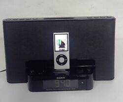 Sony Alarm Clock Docking System ICF-CS15ip with Apple Music IPod Classic 8Gb