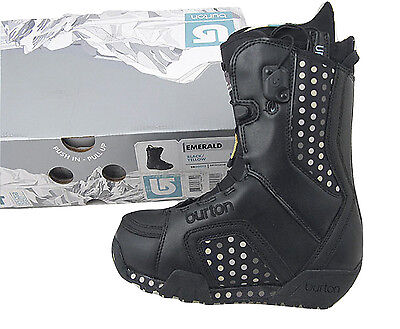 NEW! Burton Emerald Snowboard Boots!  *Cute Polka Dots*   *Tan, Black or White*