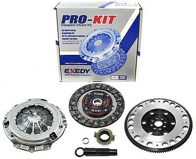 EXEDY PRO CLUTCH KIT Fits ACURA RSX TYPE S + Grip FLYWHEEL KIT K SERIES (Acura Rsx Clutch)