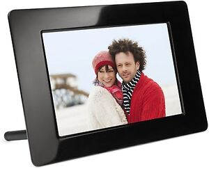 KODAK Digital Photo Frame P76 7'' 7 Black +Free Digiez Magnetic Photo Paper 5sh