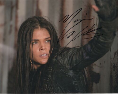 Marie Avgeropoulos The 100 Autographed Signed 8x10 Photo COA D82