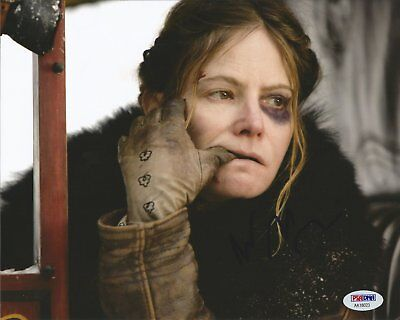 Jennifer Jason Leigh Signed 8X10 Authentic Autograph The Hateful Eight Psa Dna