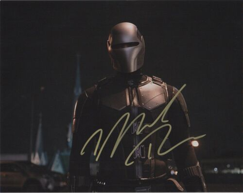 Mechad Brooks Supergirl Autographed Signed 8x10 Photo COA D9C