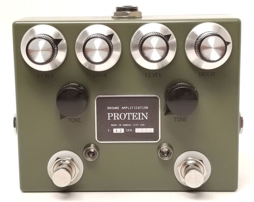 Browne Amplification The Protein Dual Overdrive V2.2 BRAND NEW IN BOX, FREE S&H!