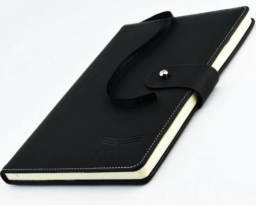 Undated Notebook Universal Daily Planner Agenda Organizer, Leather Journal, A5 8