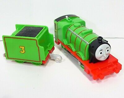 Thomas and Friends Motorized Henry for Trackmaster Railway w/ Tender Mattel