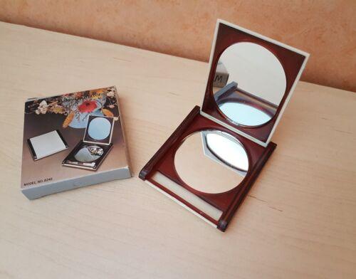 1 Make Up Mirror Spiegel Pocket Taschenspiegel Vintage alt original Schminke