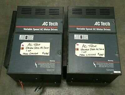 Ac Tech 1 Hp Variable Speed Ac Motor Drive Model L14010a