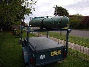 Boxed trailer with a lockable and weather proof lid Queanbeyan Queanbeyan Area Preview