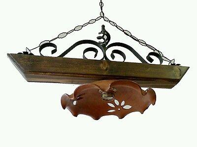 Plafoniere Legno E Vetro : Plafoniere in legno usate: plafoniera e vetro satinato a