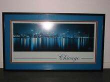 """""""Chicago Skyline"""" Framed Photograph Cannonvale Whitsundays Area Preview"""