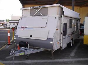 2003 Coromal Excel 505 Pop Top Caravan Ormiston Redland Area Preview