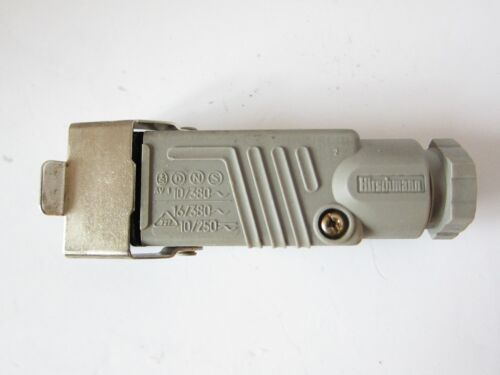 NEW HIRSCHMANN STAK 3 RECTANGLE CONNECTOR