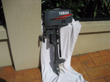 "2 HP YAMAHA OUTBOARD MOTOR, ""NEW"""