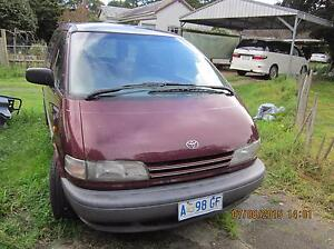 1992 Toyota Tarago Wagon Wynyard Waratah Area Preview