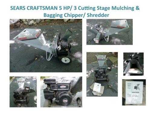Sears Shredder Bagger : Sears craftsman hp cutting stage mulching bagging