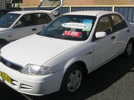 2001 Ford Laser Sedan Girards Hill Lismore Area Preview