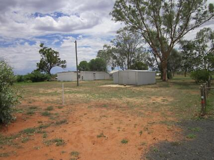 1 acre block and sheds for sale or swap in Wyandra Wyandra Paroo Area Preview