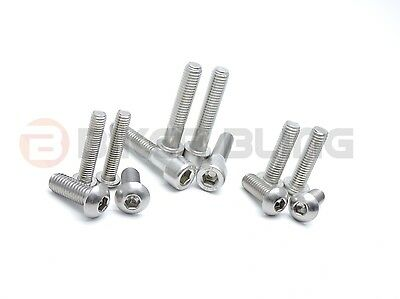 Kawasaki ZZR1200 ZX 2002 stainless steel front rear foot rest rearset bolts kit