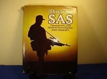 MILITARIA – GERAGHTY, T 'THIS IS THE SAS– A pictorial history' Forest Lake Brisbane South West Preview