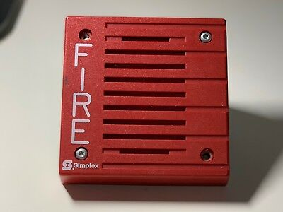 Simplex 4901-9805 Fire Alarm Remote Horn Electromechanical