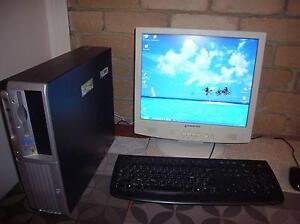 HP Compaq DC 7600 SFF Complete Destop Personal Computer System Fawkner Moreland Area Preview