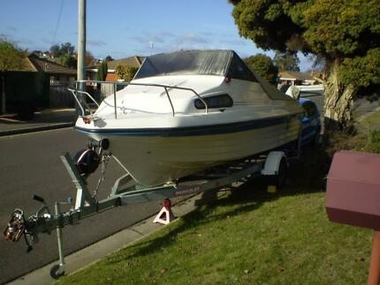 Swift Craft Boat - Yamaha 90 HP 41 Hours, Great Condition