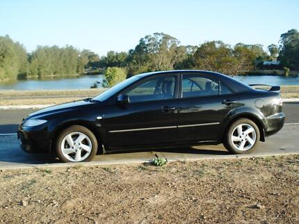 Black Mazda 6 2003 Classic