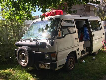 Comfy, Reliable Toyota Hiace Poptop with Solar Power+Dual Fuel