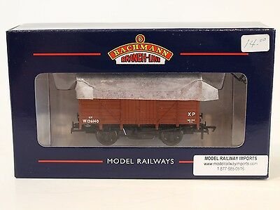 Bachmann OO Scale 37-729A BR Bauxite Brown 12 Ton Ventilated Van #126140