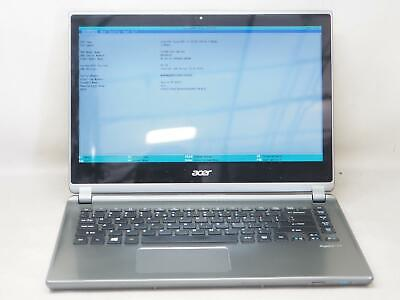 "ACER ASPIRE M5 14"" Laptop Intel Core i5-3337U 1.80GHz 6GB RAM 500GB No OS"