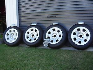 Ford Territory Rims With Excellent Tyres Clontarf Redcliffe Area Preview