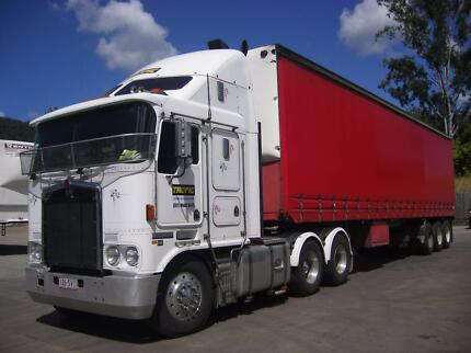 2004 Kenworth K104 Prime Mover and 1993 Freighter TriAxle Trailer Airlie Beach Whitsundays Area Preview