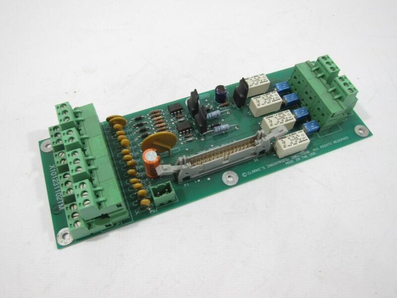 Clarke's 7005-00300 Rev 1.0 Circuit Board PCB 700500300