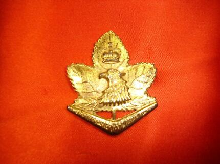 MILITARIA – 1953-60 8/7 INF BN THE NW VICTORIAN REGT HAT BADGE Forest Lake Brisbane South West Preview