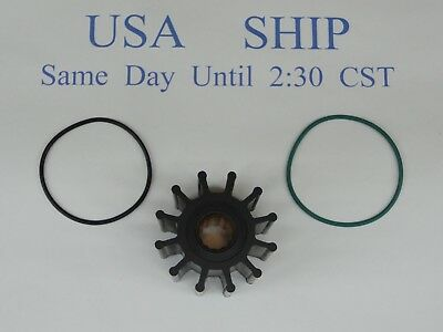 Impeller kit Replaces Volvo Penta 21213664 sea water pump Will Ship Quickly